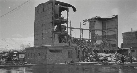 В армении землетрясением 7 12 1988