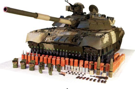 Візьмем по три снаряда на легкий танк