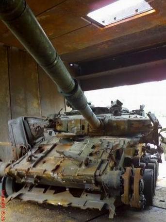 Танки Т-90 после