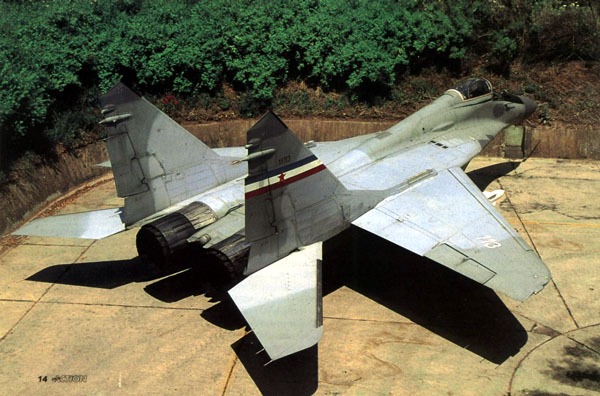 Миг-29а ввс югославии